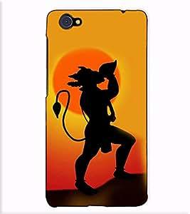 Fuson Designer Back Case Cover for Vivo X5Pro :: VivoX5Pro (Anjani putra hanuman theme)