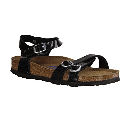 Birkenstock, Sandali donna nero nero, nero (Magic Galaxy black), 40 EU schmal