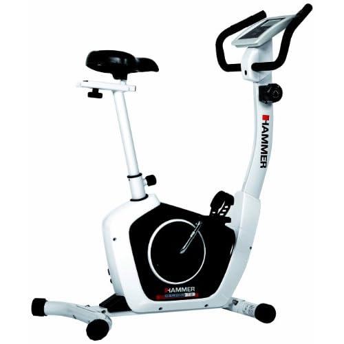41cRzsn9ciL. SS500  - Hammer Cardio T2 Exercise Bike - White/Black