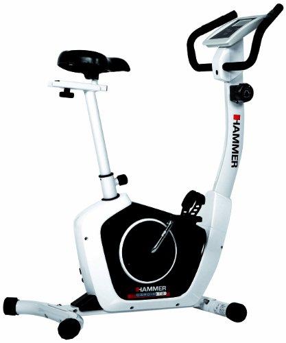 Hammer Heimtrainer Cardio T2, Weiß/schwarz, 4850