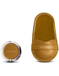 Lucrin - Accroche sac et son pochon en cuir - Cuir Lisse