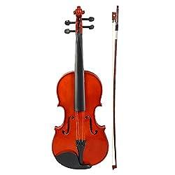 KAPS MV - 001, 4- Strings, 4/4 Full Size Violin, Brown, with Violin Hard Case