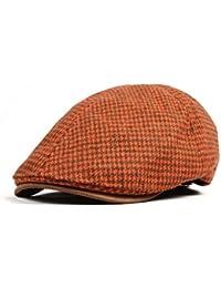 56-58cm Color : Black, Size : M MEIDI-hat Home Herbst und Winterhut weiblicher Baskenm/ütze Tweed Knospe M/ütze Retro Woolen Pailletten Maler Hut