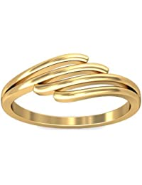 P.N.Gadgil Jewellers Lavanya Collection 22K (916) Yellow Gold Binding Ring