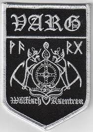 Varg - Logo toppa/Patch