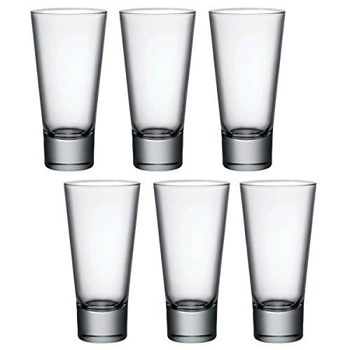 Lot de 6 grands verres à cocktail Ypsilon par Bormioli Rocco