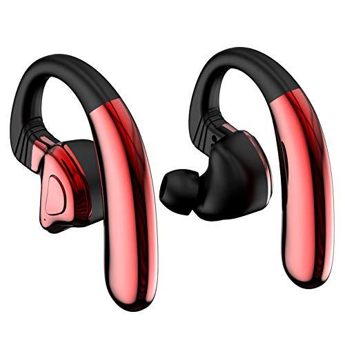 Haludock Hohe Klangqualität Drahtloses Bluetooth 5.0 Headset Sport in Ear-Ohrhörer mit Rauschunterdrückung Mikrofon