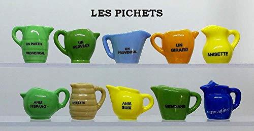 Galette des Rois FABOLAND Les TOUPIES DV2355-10 Sujets Porcelaine pour Epiphanie