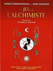 Coffret Le jeu de l'alchimiste : Contient : 1 livre, 49 cartes en couleurs, 56 cartes
