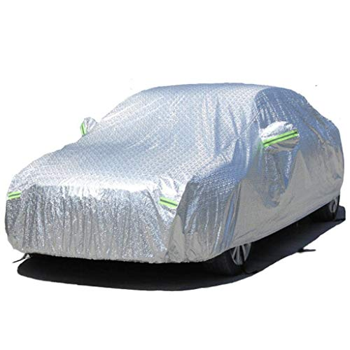 D_HOME Accord 8. Generation/Accord 9. Generation/Song-Poesie/Feng Fan Sonnencreme Wasserdichte Autoschutzbezüge New Ling Pai/Passform/Civic/CRV Aluminiumfolie Car Cover