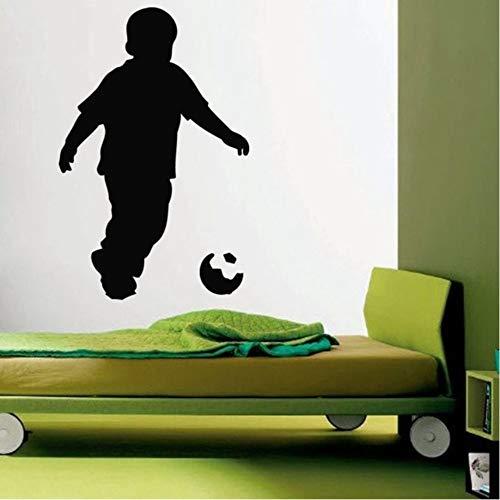 (Hwhz 38X58 Cm Fußball Spieler Aufkleber Sport Fußball Aufkleber Helme Mädchen Kinderzimmer Name Poster Vinyl Wandtattoos Fußball Aufkleber)