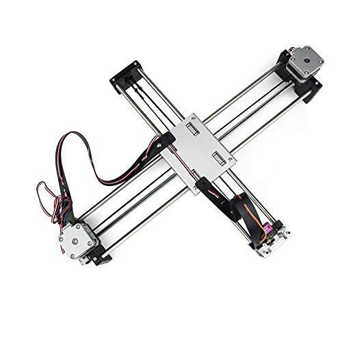 DIY intelligente Schreiben, Zeichnen, Roboter-Mini XY 2 Achsen-CNC-Pen Plotter-Maschine Erweiterte Toy Schrittmotorantriebe 32X22cm Stroke