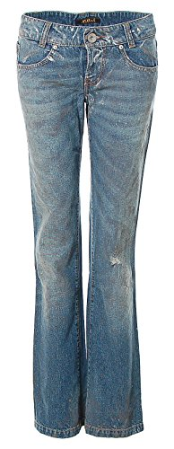 Killah Jeans Hose Regular Slim Dirty Look Destroyed W28 L32 blue