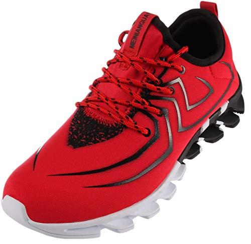 BRONAX Zapatillas Hombres Deporte Running Zapatos para Correr Gimnasio Sneakers Deportivas Transpirables...