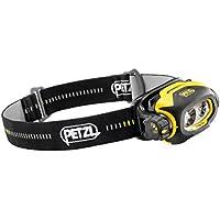 Petzl PIXA3R 90 Pixa 3R - Linterna frontal recargable ATEXZone 2 (versión del Reino Unido), color negro y amarillo
