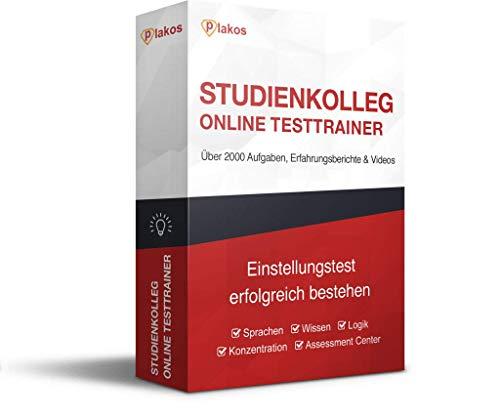 Studienkolleg Aufnahmetest Online-Trainer: Interaktive und authentische Aufgaben und Tests zu Sprache, Konzentration, Allgemeinwissen und Logik, mit Lösungen | E-Book