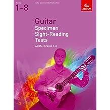 Guitar Specimen Sight-Reading Tests, Grades 1-8 (ABRSM Sight-reading)
