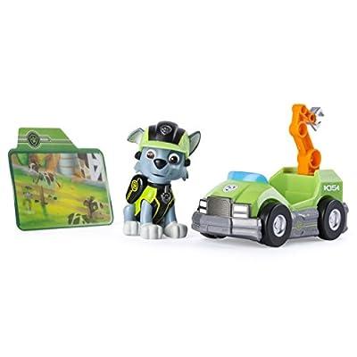 PAW PATROL Minivehículo de misiones y Rocky de Patrulla Canina (6037964) de Spin Master Toys UK