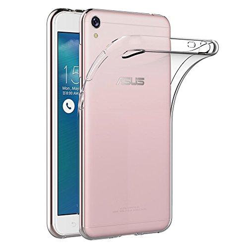 AICEK ASUS Zenfone 3 Go ZB501KL / Asus Zenfone Live ZB501KL Hülle, Transparent Silikon Schutzhülle für Zenfone 3 Go Case Crystal Clear Durchsichtige TPU Bumper Zenfone 3 Go Handyhülle 5 Zoll