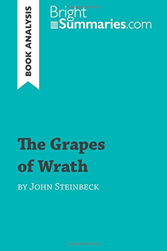 a summary and analysis of the book the grapes of wrath by john steinbeck The grapes of wrath was written by john steinbeck, in 1929 steinbeck was born on february 27, 1902, in salinas, california steinbeck did not like to narrate any of his novels in which he.