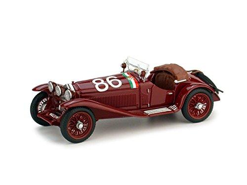 alfa-romeo-1750-gs-n86-2nd-mille-miglia-1931-campari-marinoni-143-brumm-auto-competizione-modello-mo