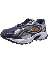 Sparx Men's Navy Blue and Orange Running Shoes - 8 UK (SM-171)