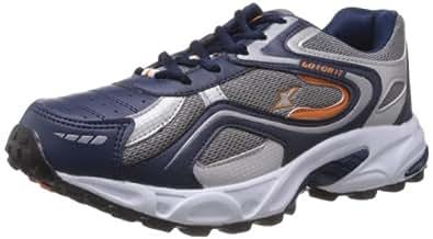 Sparx Men's Navy Blue and Orange Running Shoes - 7 UK (SM-171)
