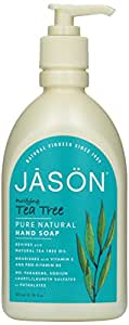 Pack of 1 x Jason Pure Natural Purifying Tea Tree Hand Soap - 16 fl oz