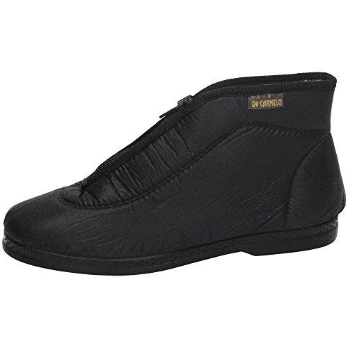 ZAPATOP 1800 Zapatilla Cremallera SEÑORA Zapatillas Negro 40