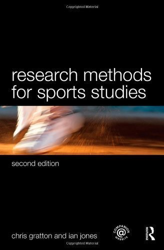 By Chris Gratton, Ian Jones: Sports Coaching Package Brunel University: Research Methods for Sports Studies Second (2nd) Edition