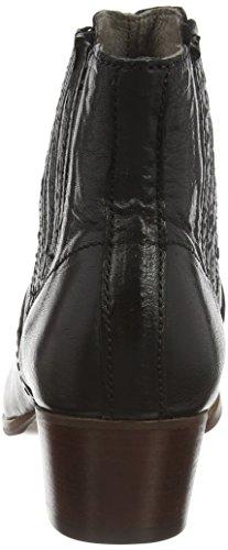 Hudson London Damen Paige Chelsea Boots Schwarz (Black)