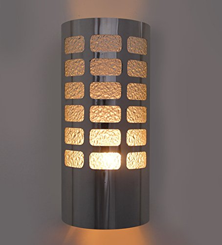 WhiteRay Metallic Cylindrical Wall Light