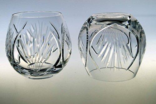 Set 6 Kristall Punch Whiskygläser Kristallgläser Bowlegläser Bowlekrug Glühwein