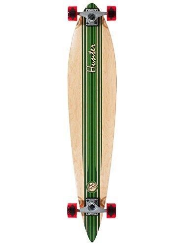 Das Mindless Hunter III ist ein Longboard mit einer Retro-Surf-inspirierten Grafik, konkavem Deck, großem Flex und mit Mindless Team-Rädern serienmäßig.