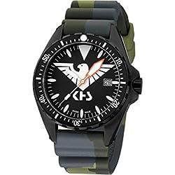 KHS Tactical Watches MissionTimer 3   Eagle One KHS.MTE.DC3 Militär Armbanduhr