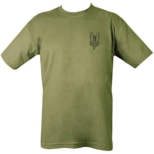 Kombat UK Herren SAS T-Shirt, olivgrün, M