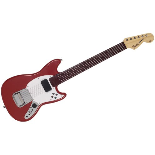 fender mustang iii Mad Catz Rb3975630S03/02/1 Playstation 3 Rock Band 3 Wireless Fender Mustang Pro-Gitarre Contr