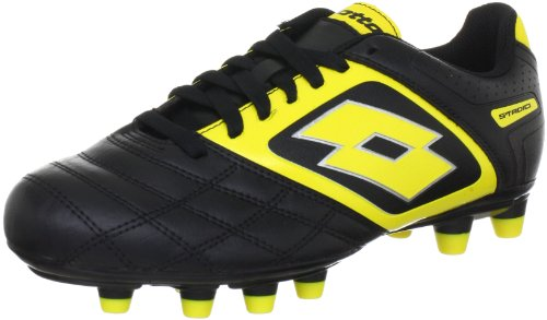 lotto-sport-stadio-potenza-ii-700-fg-sports-shoes-football-mens-black-schwarz-black-super-ylw-size-8