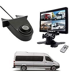 """CICMOD Rückfahrkamera mit 7"""" TFT LCD Monitor Nachtsicht Auto Rückfahrkamera Set für Mercedes Benz Sprinter VW Crafter T5 Transit Ducato Transporterkamera Rückfahrsystem"""