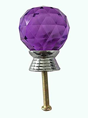 KingWinX Crystal Glass Knob Handle - inexpensive UK door handle store.