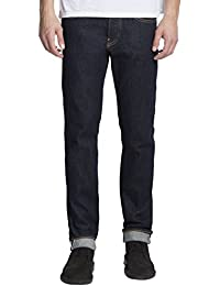 Edwin Homme ED-80 Slim Tapered Listed lisières Denim Jeans, Bleu