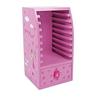 Small foot company - 5355 - Ameublement Et Décoration - Armoire pour CD - Princesse De Beauté
