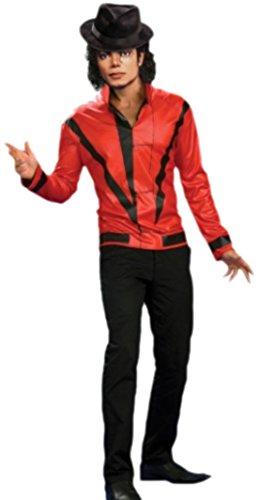 erdbeerloft - Herren Karnevalskostüm Michael Jackson Thriller Jacket , L, (Kostüm Amazon Thriller)