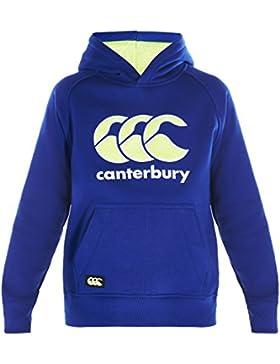 CANTERBURY Kinder CCC Logo Hoody–schwarz Marl, 10Jahre
