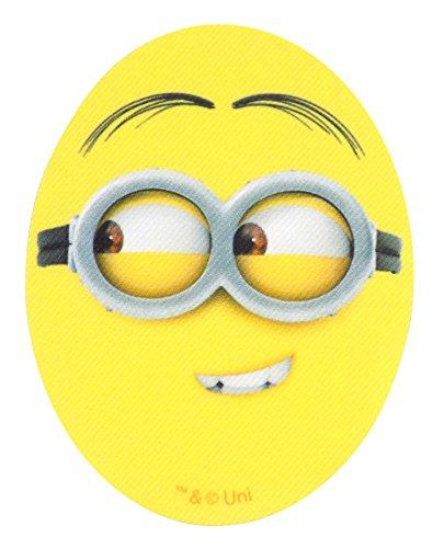 Eyed gelb weiß Eisen auf Aufnäher ()