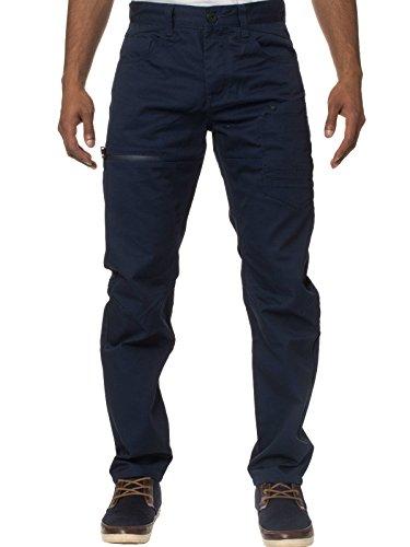 eto-jeans-da-uomo-designer-modello-chino-tapered-fit-pantaloni-em-574-navy-34w-x-32l