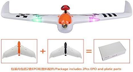 GEHOO GH LDARC Kingkong FPV Racer Aile Volante 600X 656MM Envergure Aile Fixe Drone EPO KIT / PNP / FPV Version Hélicoptère | Outlet Store En Ligne