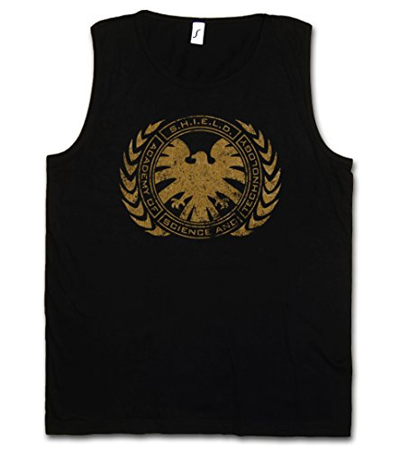 S.H.I.E.L.D. Academy Vest Tank Top Muscle Shirt - Nick Marvel Shield Fury Hydra Comic Movie Shirt Sizes S – 5XL