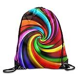 WYICPLO Fashion Drawstring Gym Piano Music Sounds Paradise Way Print Drawstring Backpack Rucksack Shoulder Bags Gym Bag Sport Bag
