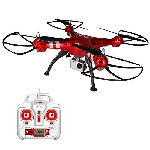 RC Drohne mit 8.0MP HD Kamera,RC Quadrocopter Ferngesteuert mit Höhenhaltung,SYMA X8HG ,Kopflos Modus für Kinder Anfänger